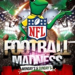 Diseño para monday & sunday night football Sr Frogs