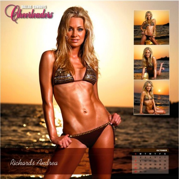 Dallas Cowbows Cheerleaders Calendar