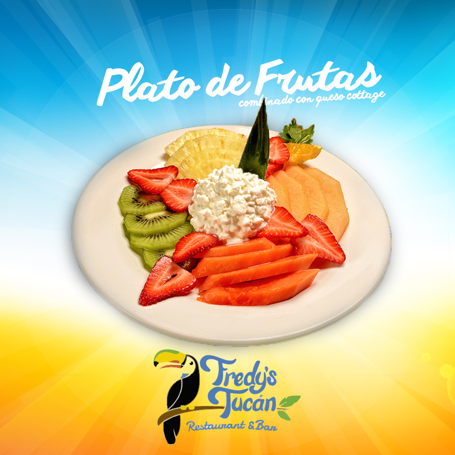Fredys Tucan Fruit Plate